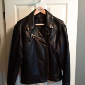 Ladies Leather Motorcycle Jacket - Fox Creek Leather