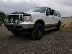 FORD EXCURSION LIMITED 7.3L DIESEL LIFTED