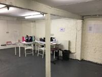 2 Office Space/s to rent in Camden Town one large one small Close to tube , buses stop & Shops
