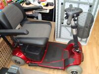 Pride Revo Mobility scooter four wheeler. good working order, easy to drive and comfortable