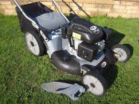 Rhyas GT22SP Petrol Lawn Mower Self Propelled 3in1 Mower 6.0hp Engine Fully Serviced Big 55cm Cut
