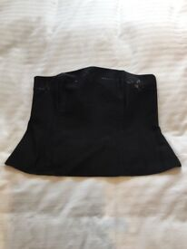Black Next Trouser and Bustier Suit Size 12/14