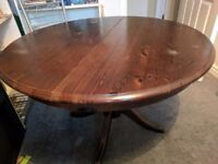 Extending Solid Wood Table