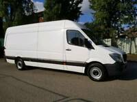 (( NO VAT )) MERCEDES SPRINTER 313 , ON 63 PLATE , LOW MILEAGE , VERY GOOD CONDITION