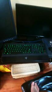 Pristine Razor gaming keyboard quick sale $100 OBO