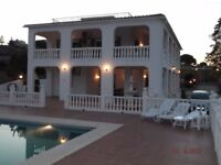 5 Bed Holiday Villa near Malaga, sleeps 10, available in September for 10 nights with cheap flights!