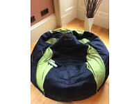 X Rocker gaming bean bag with all accessories