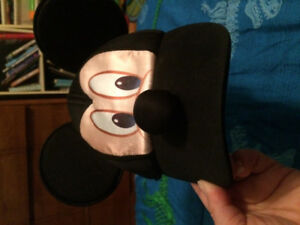 Mickey Mouse hat from Disney Live show. My son barely wore it.