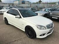 Mercedes-Benz C250 2.1CDI Blue F auto CDI Sport Amg ~ White ~ Fully Loaded ~