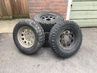 205/70 R15 insa turbo Dakar tyres, plenty of tread