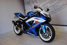 2009 SUZUKI GSXR600, AKRAPOVIC, IMMACULATE CONDITION, £5,500 OR FLEXIBLE FINANCE