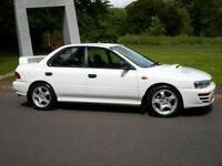 SUBARU IMPREZA WRX RA MODEL OVER 21 YEARS OLD ONLY 63000 MILES