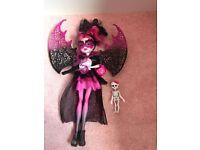 Monster high doll, Draculaura, daughter of Dracula