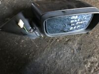 03 BMW E46 4 DOOR COMPLETE DRIVE SIDE MIRROR GOOD CONDITION