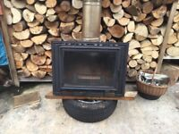 8kw Invicta wood burner