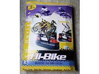 Car Bike Carrier - Universal high mounted rear bike carrier - no number plate blocking!