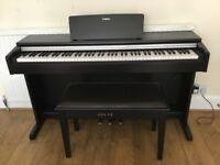 Yamaha YDP-142 portable digital piano w/ matching stool