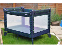 TRAVEL COT AND PLAYPEN FROM MOTHERCARED