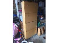 Ikea shoe storage cupboard