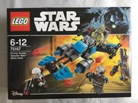 LEGO Star Wars Bounty Hunter Speeder Bike Battle Pack (75167) BNIB.
