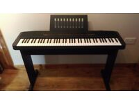 Casio CPS-7 Electric Keyboard with stand (76 key) - Very good condition, rarely used.