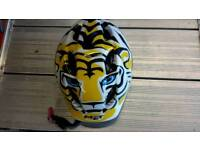 Childs Tiger bike helmet