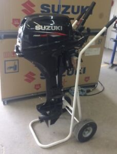 20 HP SUZUKI OUTBOARD (2015 Long Shaft)