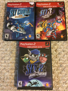 Sly Cooper PS2 Games
