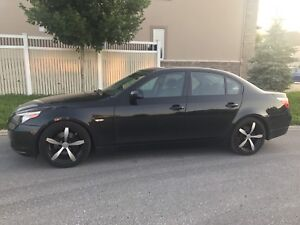 BMW 530i sport package 2007 with safety