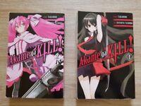 Akame ga KILL! Volumes 1 and 2