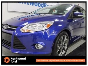 2013 Ford Focus SE with heated seats in a magnificent royalty bl