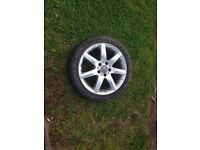 mercedes c class rim and tyre 225/45/17