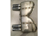 bmw e93 m3 standard exhaust back box