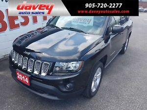 2014 Jeep Compass Sport/North 4X4, CRUISE CONTROL, MP3 INPUT