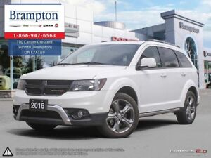 2016 Dodge Journey Crossroad | NAV | Leather | Backup Cam |