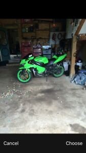 Ninja 636,  price for quick sale no lower then 2500$