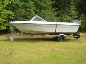 Boat, Trailer & Motor for Sale