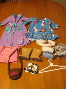 """AMERICAN GIRL DOLL CLOTHES 18"""" DOLL PLUS MORE boots shoes"""