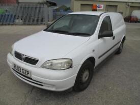 2003 Vauxhall Astravan 1.7DTi 16v 2003MY Envoy seating in rear pas