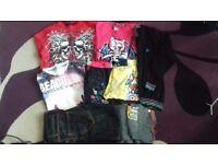 Fantastic Boy's Bundle(including unworn jeans) -Age 11-12 years