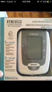 Homedics blood pressure monitor.