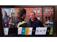 55inch lg smart tv 4k ultra hd. Harmon Karden intergrated sound system only 6months old