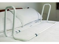 Mobility, disability BED Aid - Bed Rail/Frame, stable support to assist movement in and out of bed.