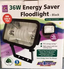 Floodlight outdoor Energy Saving New in box