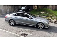 Mercedes E220 diesel coupe (stunning)