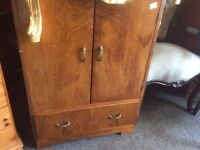Vintage cupboard with drawer