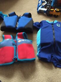Toddler swim jackets