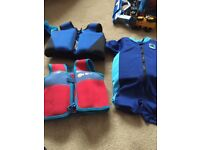Toddler swim jackets