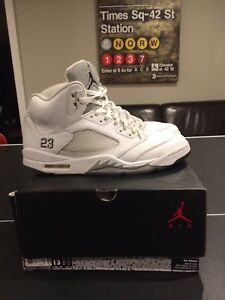 Retro Jordan 5 metallic