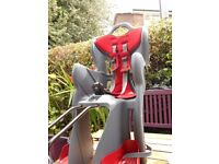 Cycle Child Seat - Black/Red